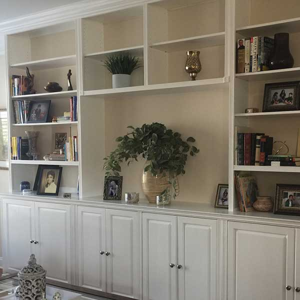 Bookcase and builtins